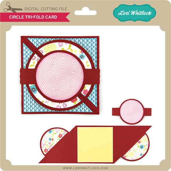 Circle Tri-Fold Card