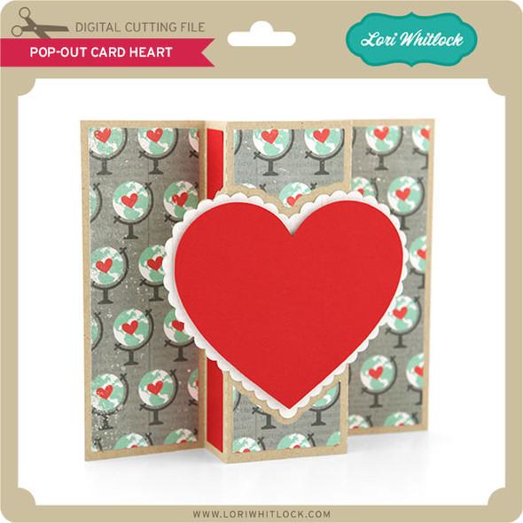 Pop Out Card Heart