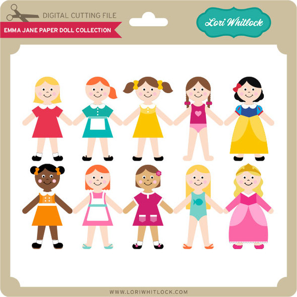 Emma Jane Paper Doll Collection