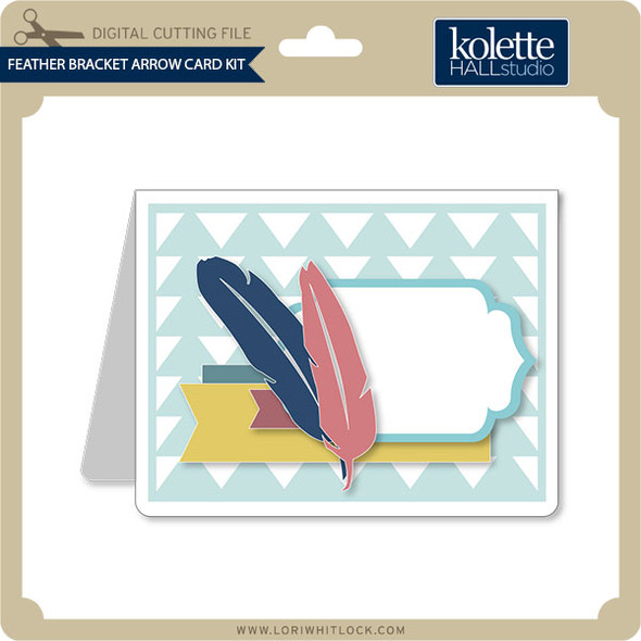Feather Bracket Arrow Card Kit