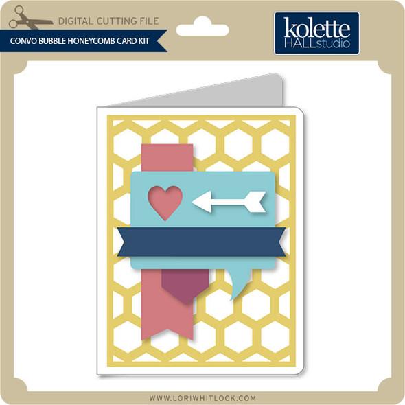 Convo Bubble Honeycomb Card Kit