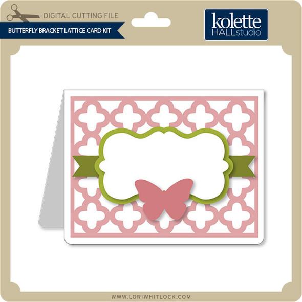 Butterfly Bracket Lattice Card Kit