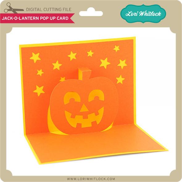 Jack-O-Lantern Pop Up Card