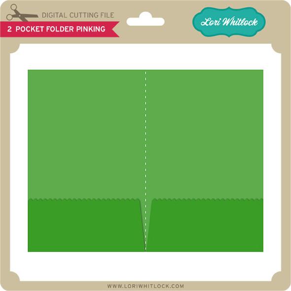 2 Pocket Folder Pinking