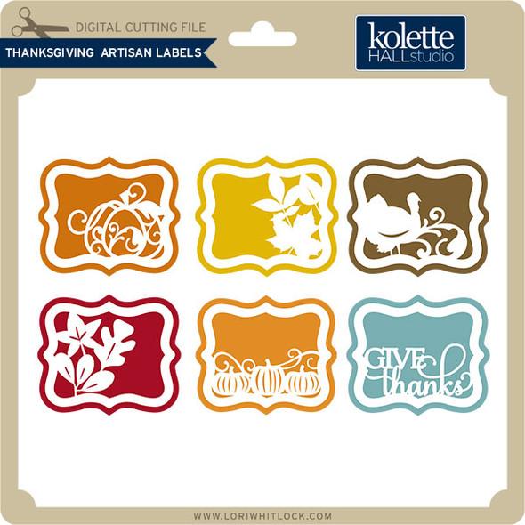 Thanksgiving Artisan Labels