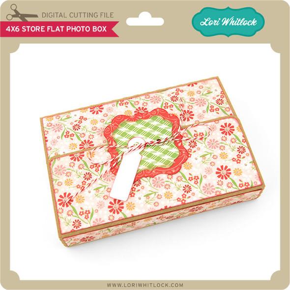 4x6 Store Flat Photo Box