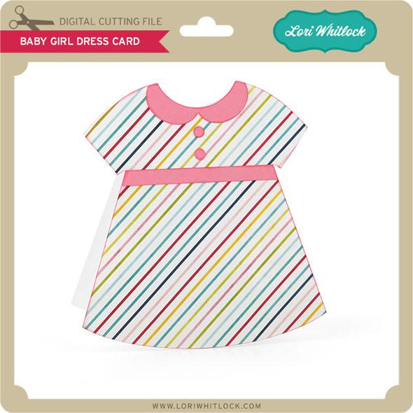 Baby Girl Dress Card
