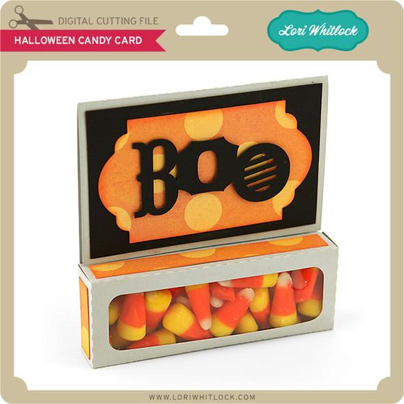 Halloween Candy Card