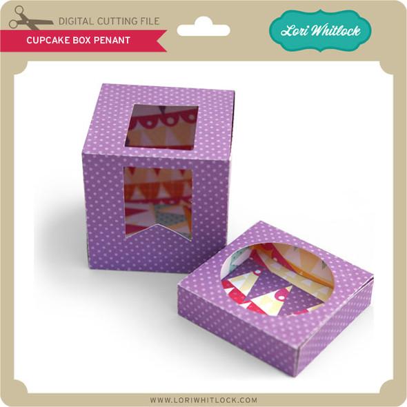 Cupcake Box Penant