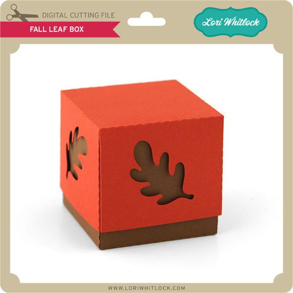 Fall Leaf Box