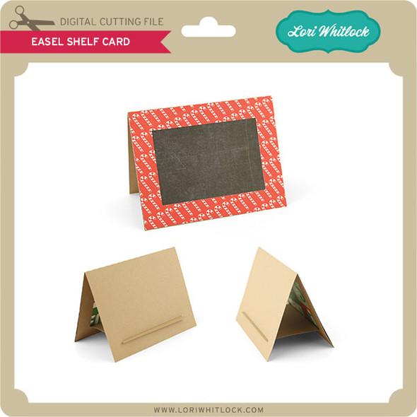 Easel Shelf Card