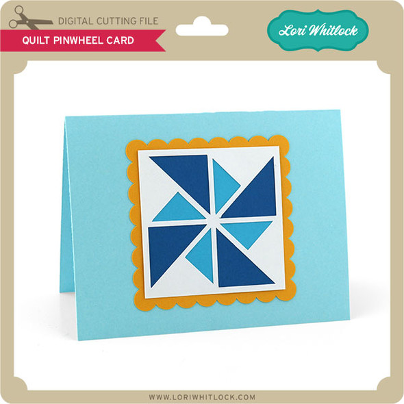 Quilt Pinwheel Card