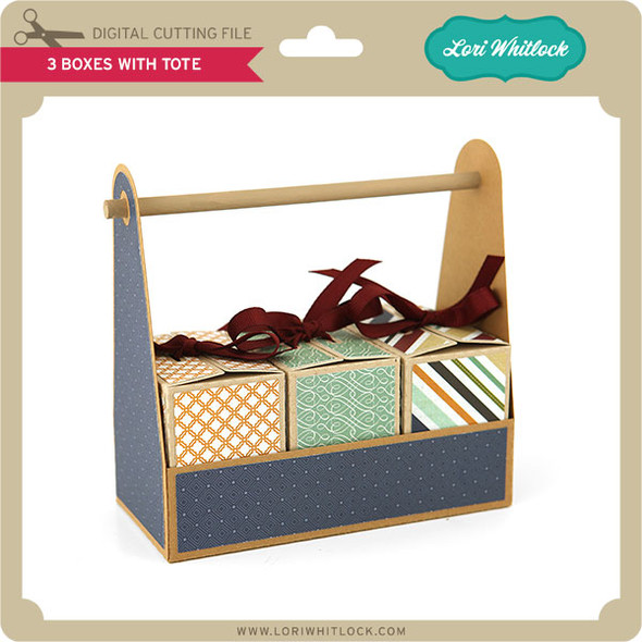3 Boxes with Tote