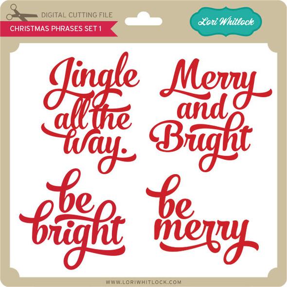 Christmas Phrases Set 1