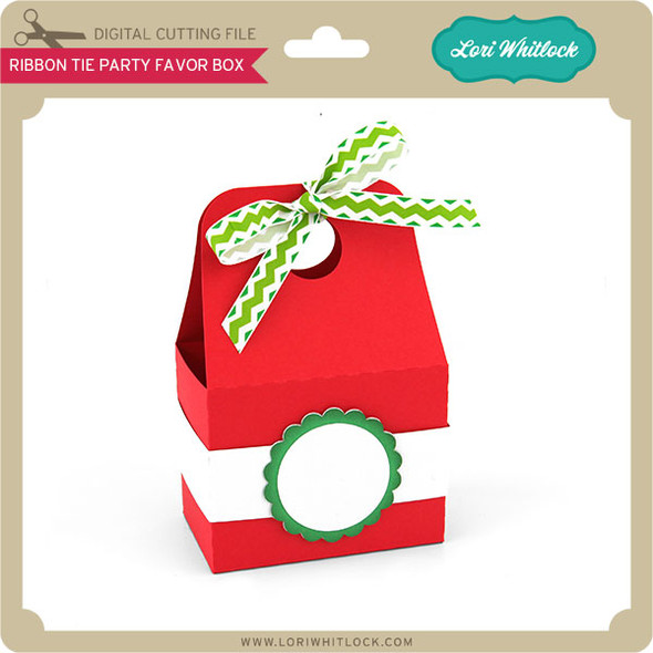 Ribbon Tie Party Favor Box