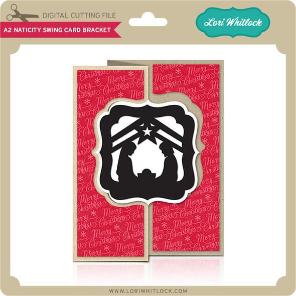 A2 Nativity Swing Card Bracket