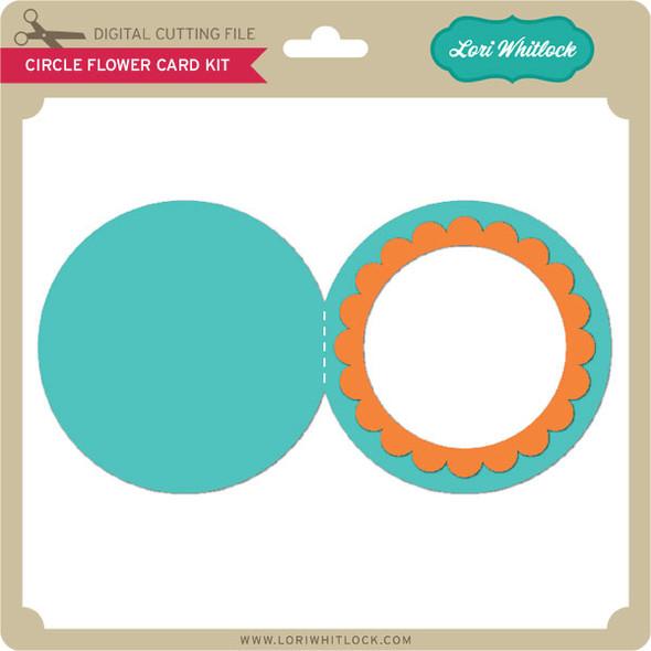 Circle Flower Card Kit