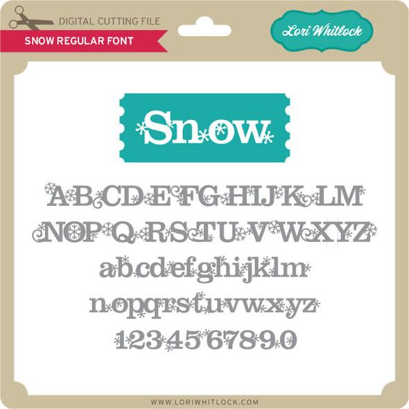 Snow Regular Font