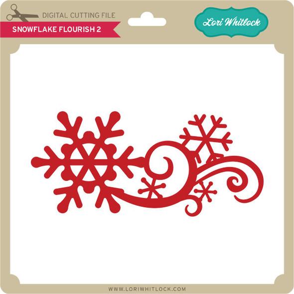 Snowflake Flourish 2