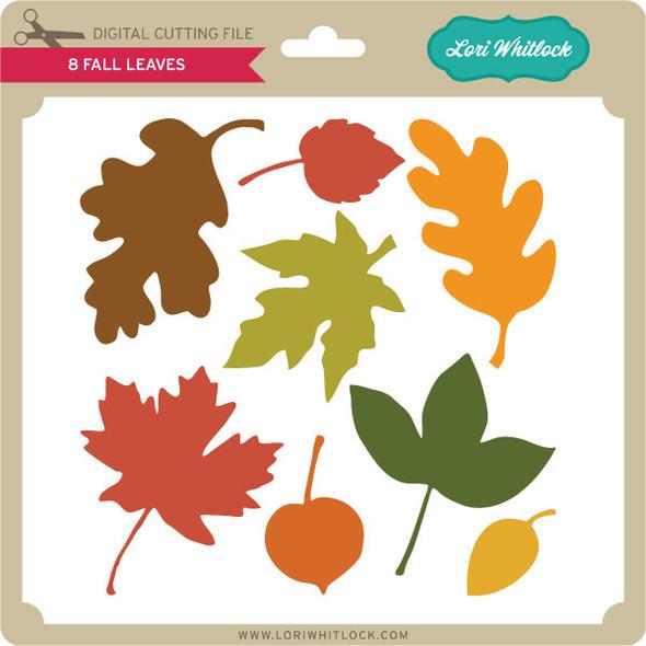 8 Fall Leaves