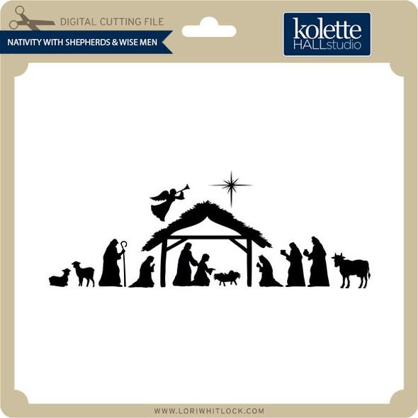 Nativity with Shepherds & Wise Men