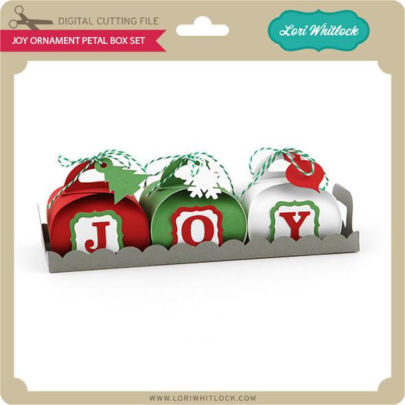 JOY Ornament Petal Box Set