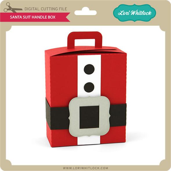 Santa Suit Handle Box