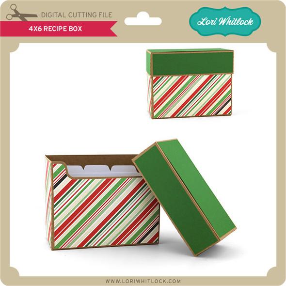 4x6 Recipe Box