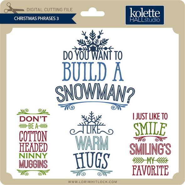 Christmas Phrases 3