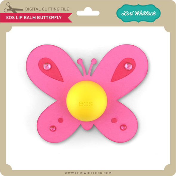 EOS Lip Balm Butterfly