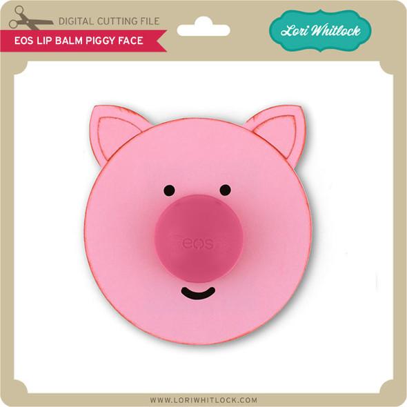 EOS Lip Balm Piggy Face