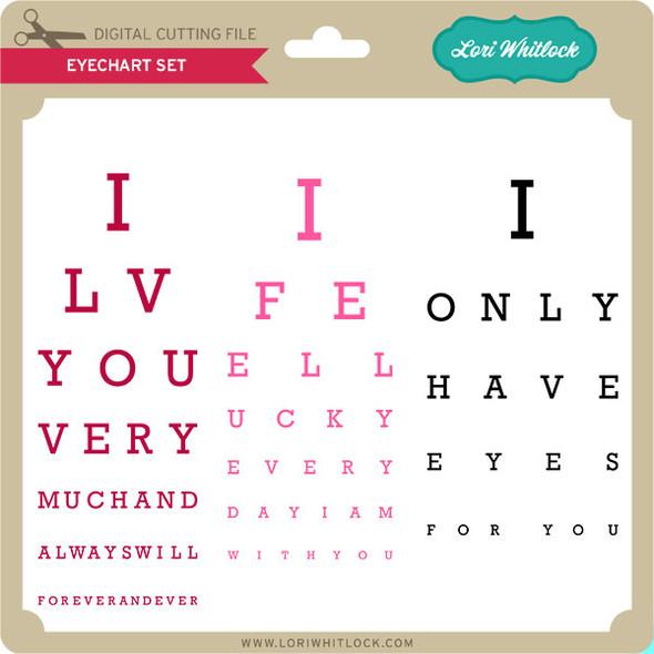 Eyechart Set Eyes For You