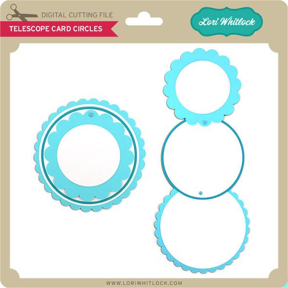 Telescope Card Circles
