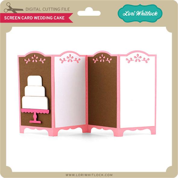 Screen Card Wedding