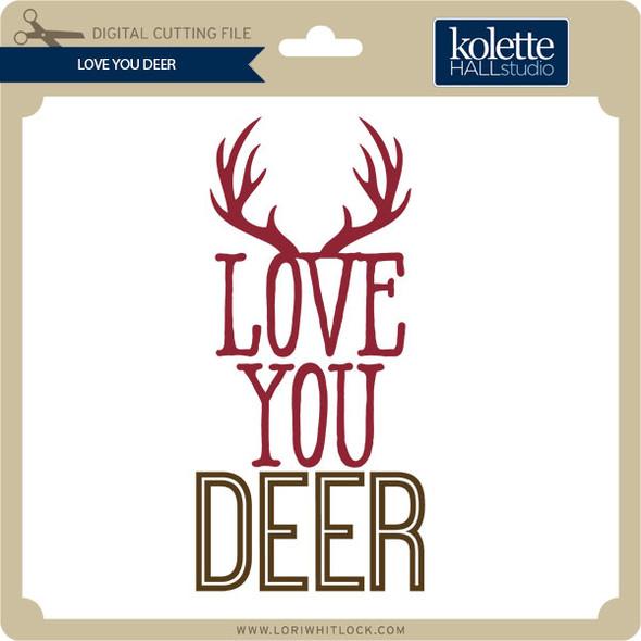 Love You Deer