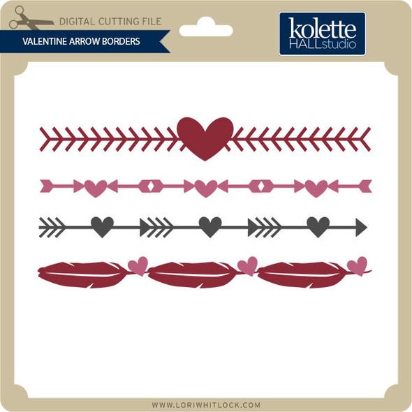 Valentine Arrow Borders
