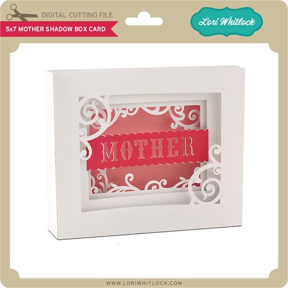 5x7 Mother Shadow Box Card