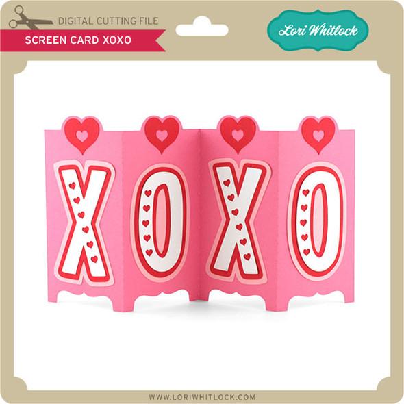 Screen Card XOXO
