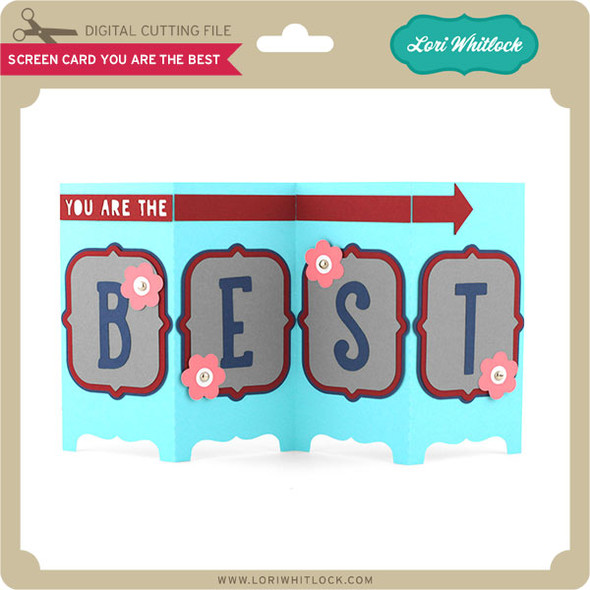 Screen Card You Are The Best