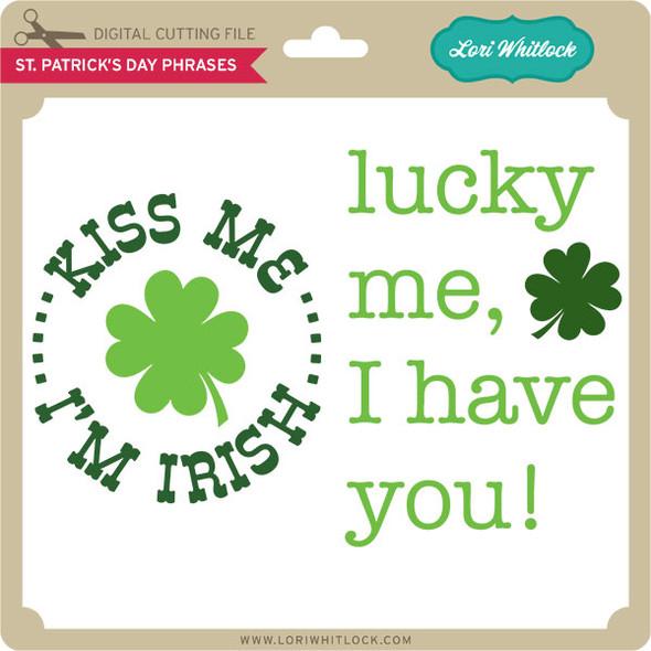 St. Patrick's Day Phrases
