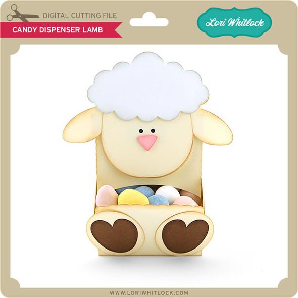 Candy Dispenser Lamb