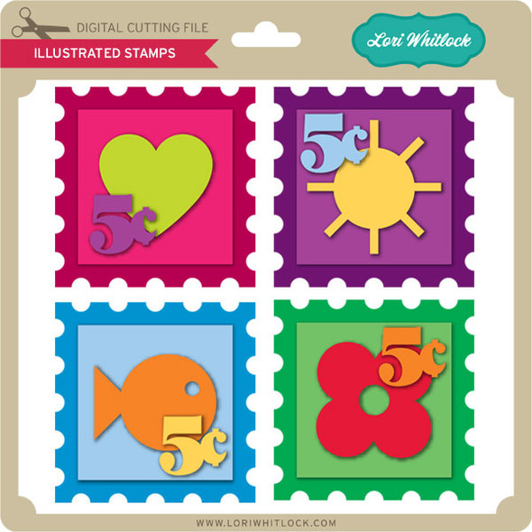 Illustrated Stamps