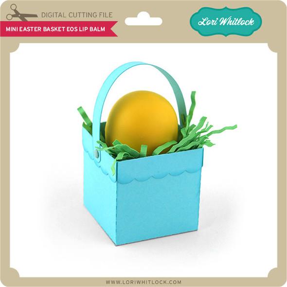 Mini Easter Basket EOS Lip Balm