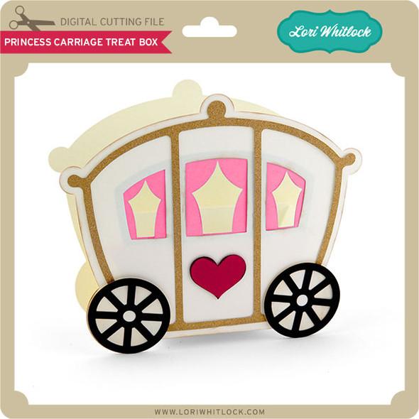 Princess Carriage Treat Box