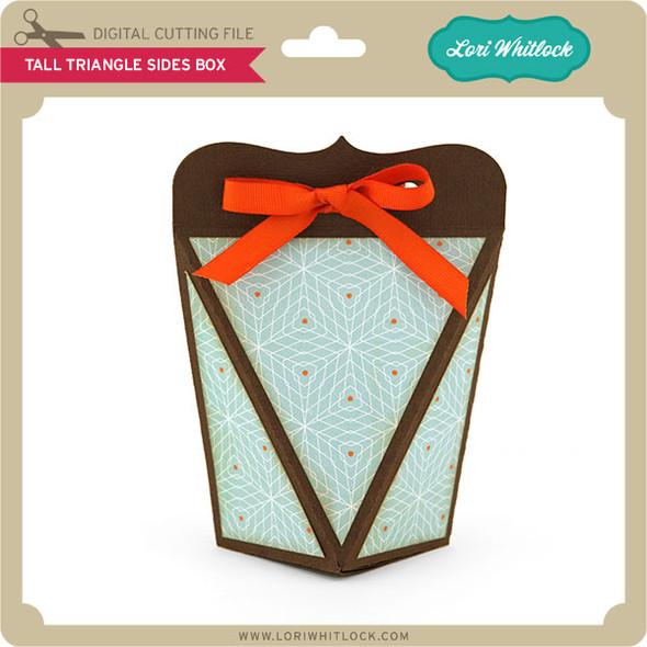 Tall Triangle Sides Box
