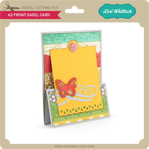 A2 Front Easel Card