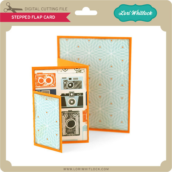 Stepped Flap Card