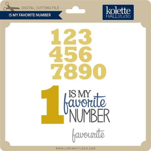 Is My Favorite Number