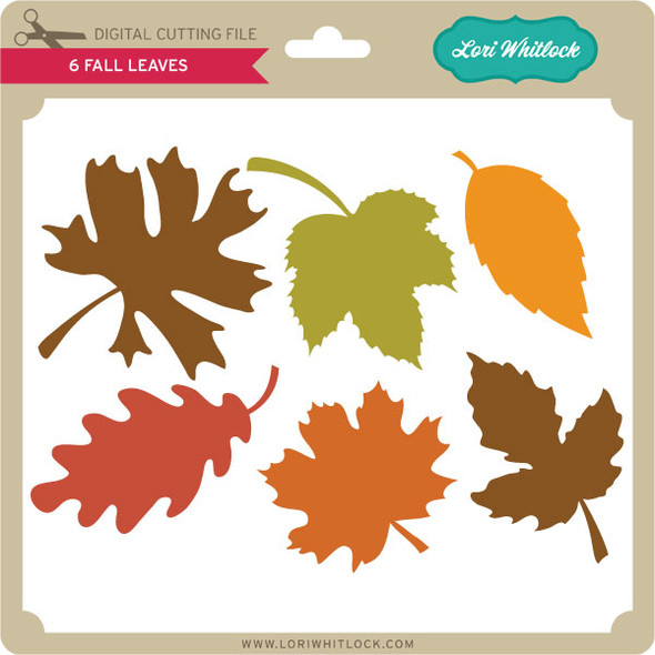 6 Fall Leaves