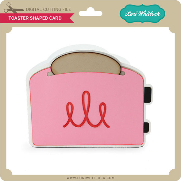 Toaster Shaped Card